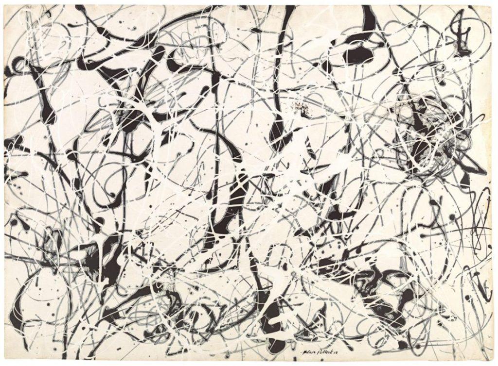 Jackson Pollock, Number 23, Ausstellung AMERIKA, DISNEY, ROCKWELL, POLLOCK, WARHOL