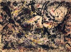 Jackson Pollock, Painting B, Ausstellung AMERIKA, DISNEY, ROCKWELL, POLLOCK, WARHOL