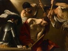 Michelangelo Merisi da Caravaggio, Caravaggio Gemälde und Werke, Dornenkrönung Christi, Caravaggio & Bernini Ausstellung, Erstmals in Österreich, Ausstellung im KHM