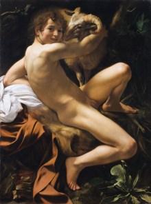 Caravaggio im Kunsthistorischen Museum, Michelangelo Merisi da Caravaggio, Caravaggio, Johannes der Täufer, Caravaggio & Bernini Ausstellung, Erstmals in Österreich, Ausstellung im KHM