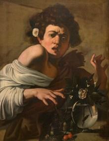 Michelangelo Merisi da Caravaggio, Knabe, von einer Eidechse gebissen, Caravaggio & Bernini Ausstellung, Erstmals in Österreich, Ausstellung im KHM
