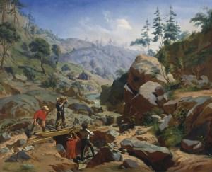 Charles Christian Nahl, Goldgräber in den Sierras, San Francisco, California Dreams, San Francisco – ein Porträt,