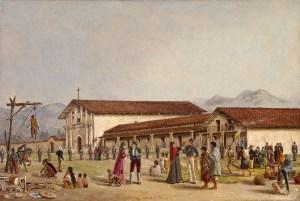 Oriana Weatherbee Day, Die Mission San Francisco de Asís,