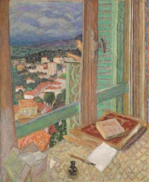Das Fenster, Bonnard Werke und Zitate, Ausstellung im Kunstforum Wien,