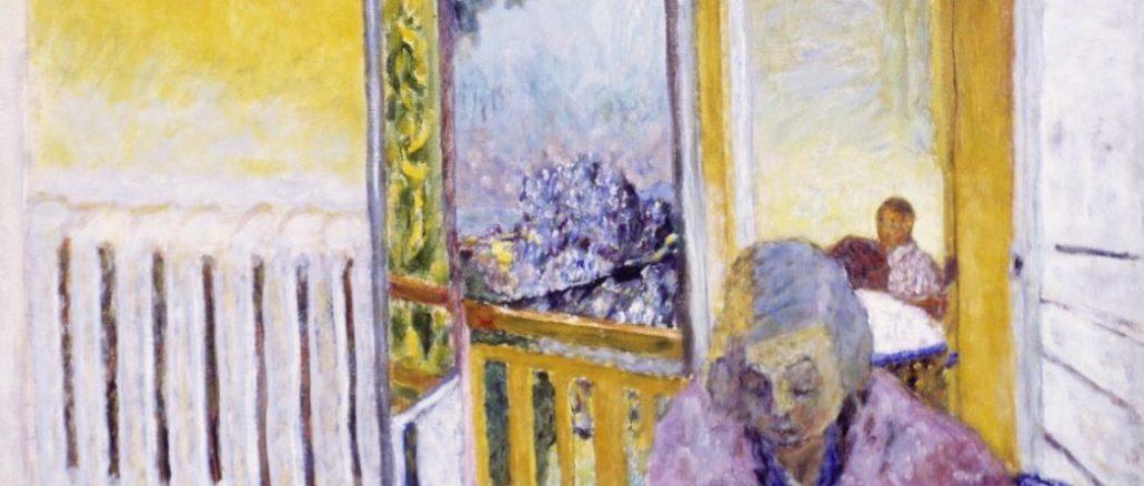 Pierre Bonnard, Das Frühstück, Heizkörper, Die Farbe der Erinnerung, Ausstellung im Kunstforum Wien,