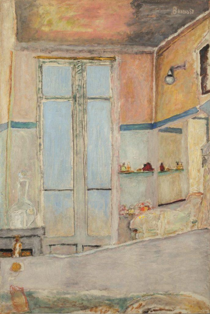 Pierre Bonnard, Im Badezimmer, Die Farbe der Erinnerung, Ausstellung im Kunstforum Wien,