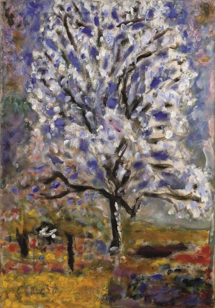 Pierre Bonnard, Mandelbaum in Blüte, Die Farbe der Erinnerung, Ausstellung im Kunstforum Wien,