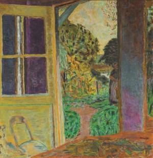 Pierre Bonnard, Türe zum Garten geöffnet, Die Farbe der Erinnerung, Ausstellung im Kunstforum Wien,