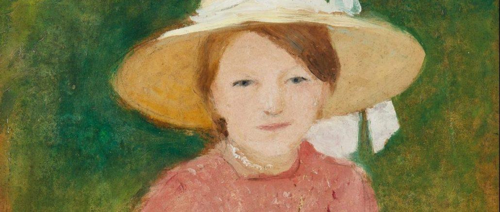 AUGUST MACKE, Porträt Mathilde Macke, Deutscher Expressionismus, Ausstellung im Leopold Museum, August Macke Biografie, Macke Werke