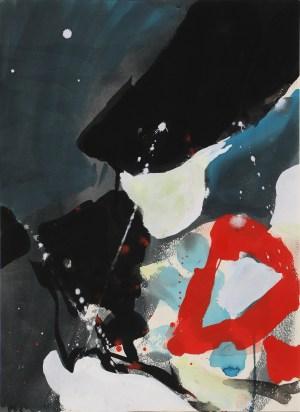 Teruko Yokoi Blackout, Werke, Teruko, abstrakte Gemälde,