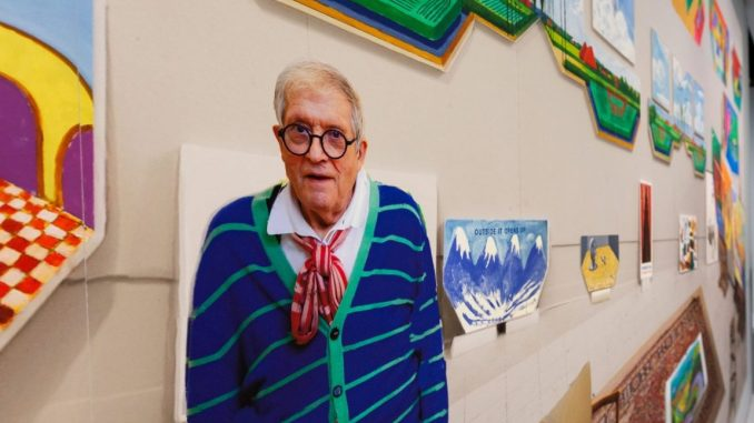 David Hockney Biografie, Hockney Werke