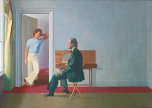 David Hockney, George Lawson and Wayne Sleep, Tate, David Hockney Biografie