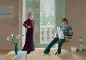 David Hockney, David Hockney Werke, Mr and Mrs Clark and Percy, David Hockney Porträts