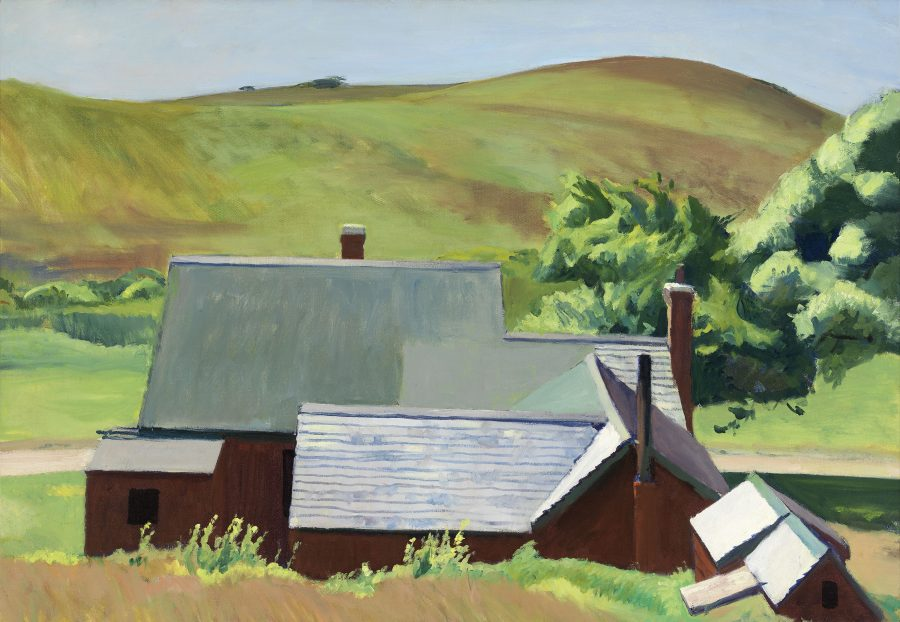 Edward Hopper, Burly Cobb's House, South Truro, Hoper Ausstellung, Edward Hopper Kunstwerke, Fondation Beyeler