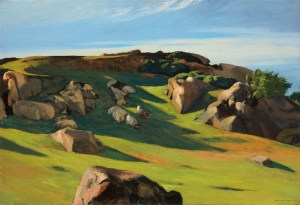 Edward Hopper, Cape Ann Granite, Hoper Ausstellung, Edward Hopper Kunstwerke, Fondation Beyeler