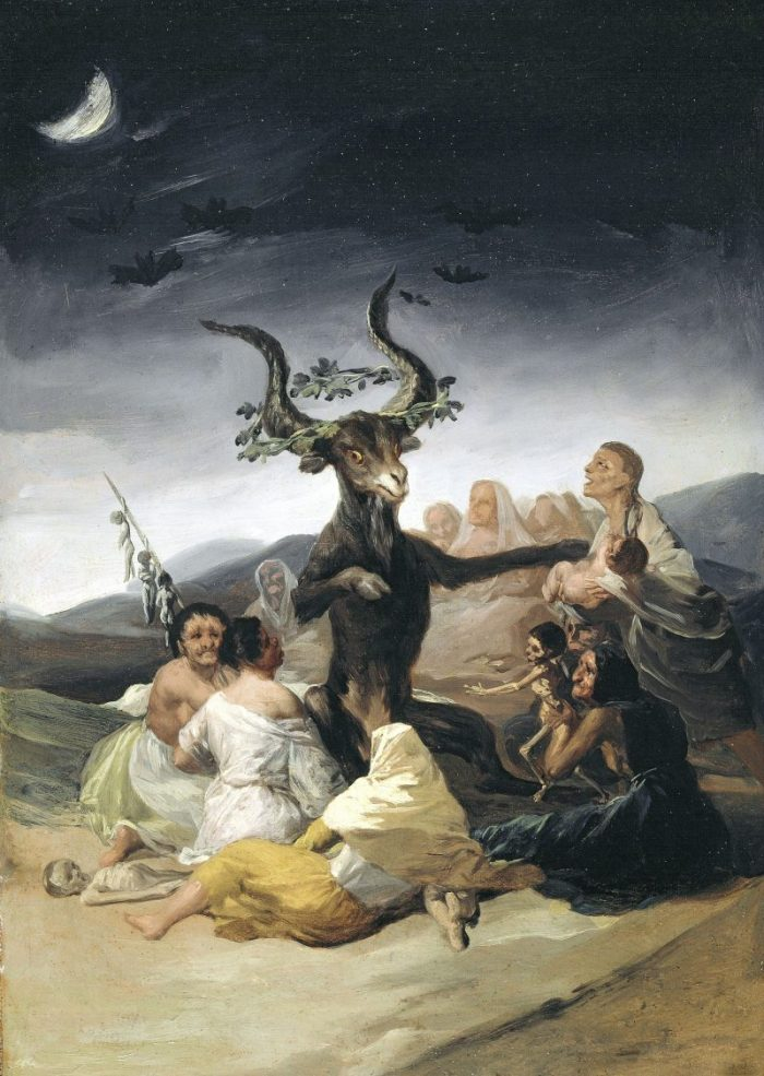 Goya, Francisco de Goya, Hexensabbat, Fondation Beyeler, Goya Werke und Bilder,