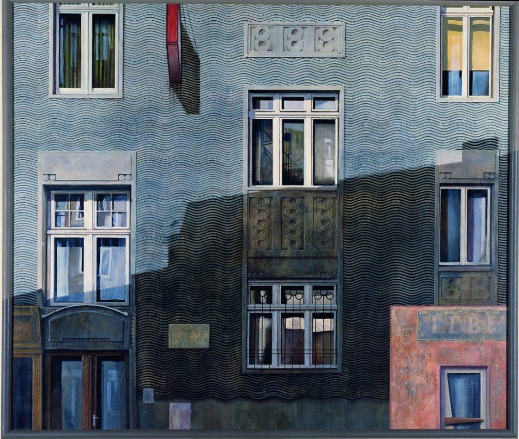 Franz Zadrazil, Rüdigerhof, The Beginning, Albertina Modern,