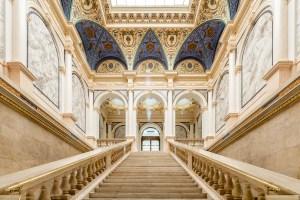 Albertina Modern, Das neue Künstlerhaus, Prunkstiege, Museum in Wien, Kunst der Gegenwart