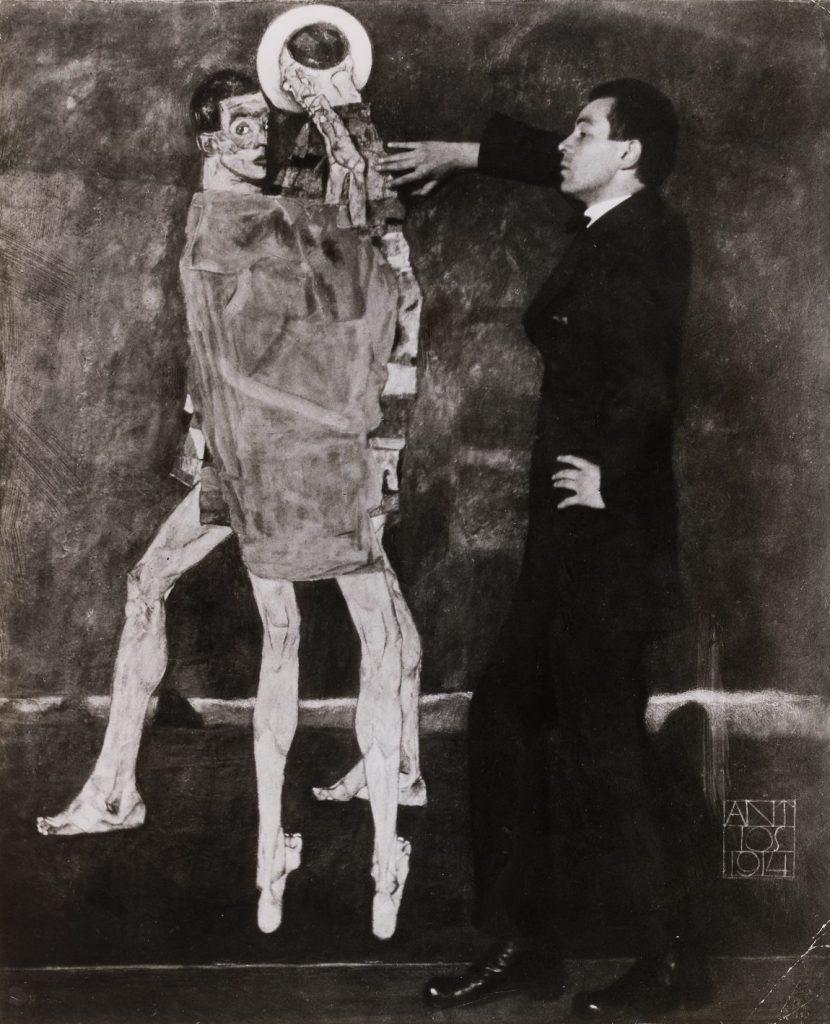 Egon Schiele, Begegnung,