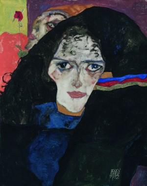 Egon Schiele, Trauernde Frau