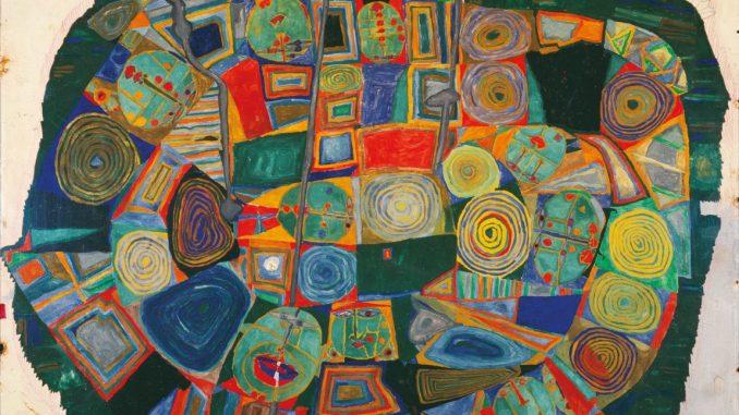 Ausstellung Hundertwasser, Leopold Musem, FRIEDENSREICH HUNDERTWASSER, Le jardin des morts heureux