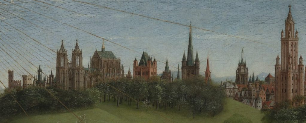 Jan van Eyck, Genter Altar, Flügelaltar, Saint-Bavo's Cathedral