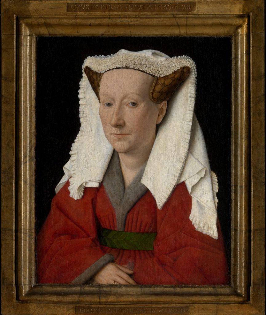 Jan van Eyck, Bildnis des Margareta van Eyck, Museum der schönen Künste, Gent