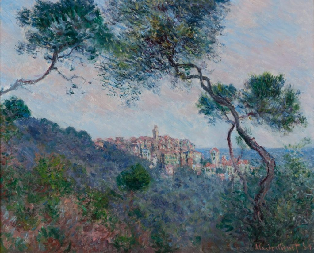 Claude Monet, Bordighera, Italien, Hasso Plattner Foundation, Museum Barberini