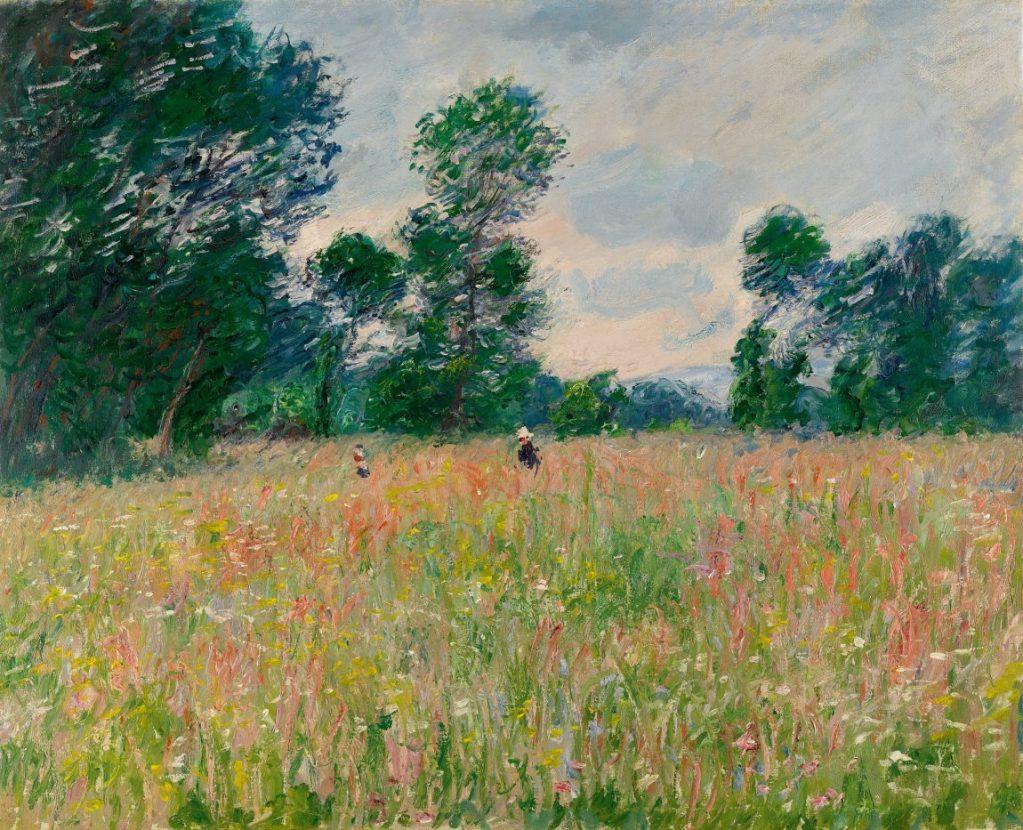 Claude Monet, Die blühende Wiese, Hasso Plattner Foundation, Museum Barberini