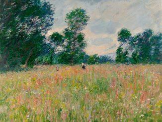Claude Monet, Die blühende Wiese, Hasso Plattner Foundation, Impressionismus,