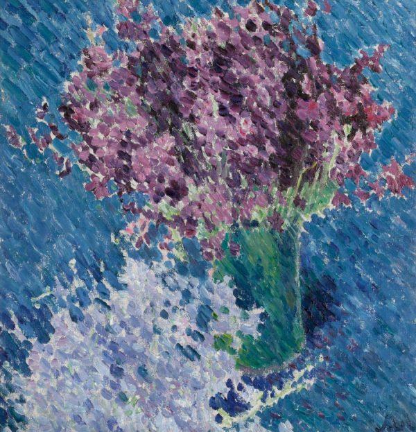 Michail Larionow, Flieder, Impressionismus
