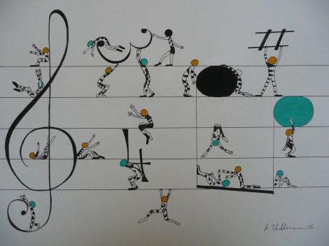Michaela Stockhammer. Tinte, Acryl. 30x 40 cm   Art On Screen - [AOS] Magazine