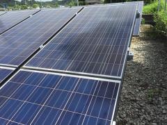 太陽光発電所の運用もやはり「現場100回」。でも実は訪問3回目の発電所の状況。