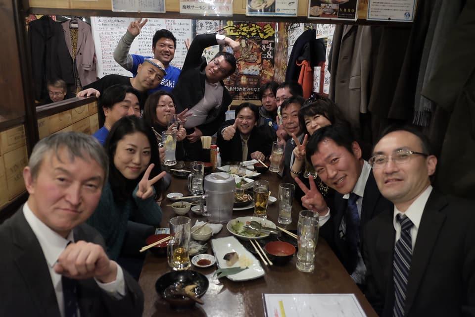 1月29日 AOsuki新年会とAFSイベントのスタッフ調整