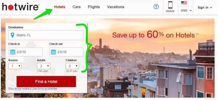 economizar-hotel-hotwire-passo-escolher-datas Como economizar no hotel com Hotwire (Guia Completo!)