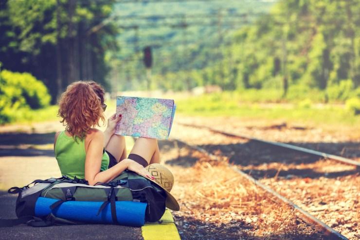 porque viajar sozinha