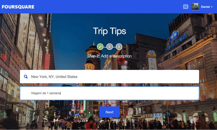 foursquare-trip-tips-local Viaje apenas com dicas dos amigos - Tem coragem?