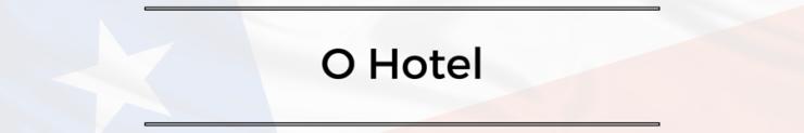 antiago Chile primeiros passos - O Hotel onde se hospedar