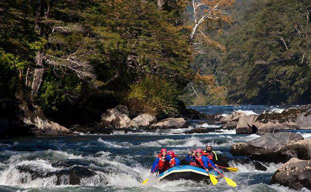 Rafting em Cajón del Maipo