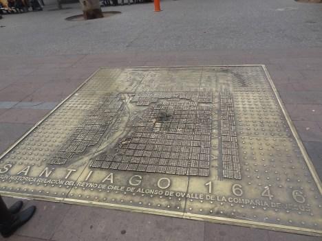 roteiro santiago 7 a 10 dias - mapa chile antigo