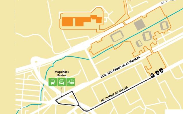 como-chegar-a-DEODORO-mapa-tiro-esportivo Como chegar a Deodoro Guia Olímpico Rio 2016