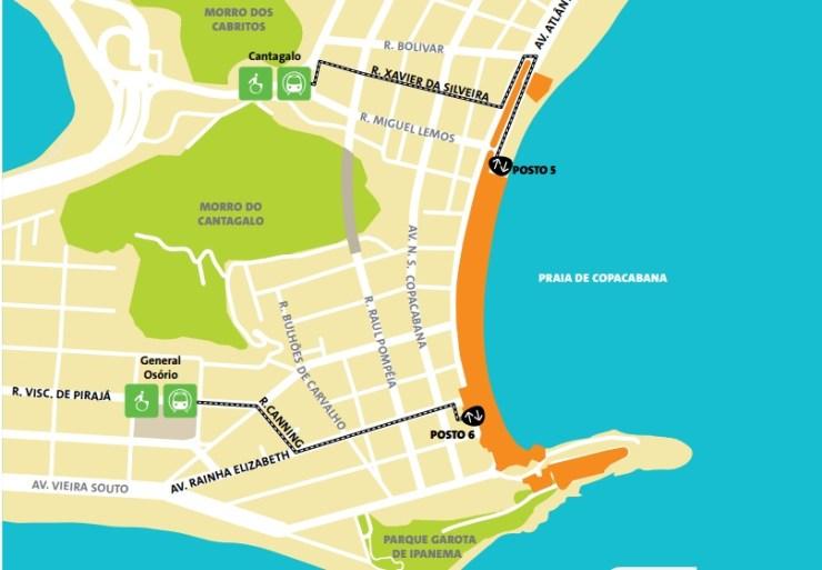 como-chegar-a-copacabana-olimpiadas-mapa-forte-de-copacabana Como chegar a Copacabana | Guia Olímpico Rio 2016
