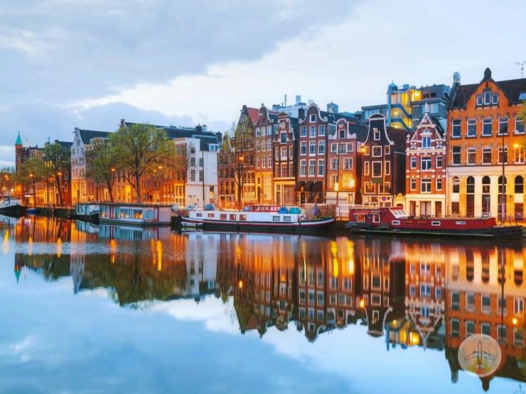 20 Cidades do mundo para visitar ao menos uma vez - amsterdam