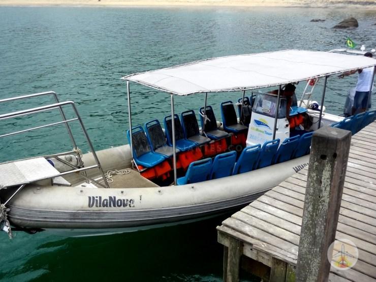 Como chegar na Ilha Grande e onde se hospedar - lancha do cais