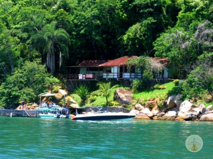 Como chegar a Ilha Grande e onde se hospedar - pousada romantica ilha grande