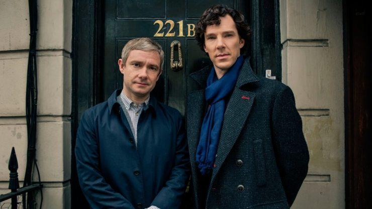 Cenários-e-Museu-de-Sherlock-Holmes-em-Londres-a-serie-bbc Cenários e Museu de Sherlock Holmes em Londres