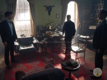 Cenários-e-Museu-de-Sherlock-Holmes-em-Londres-sala-serie Cenários e Museu de Sherlock Holmes em Londres