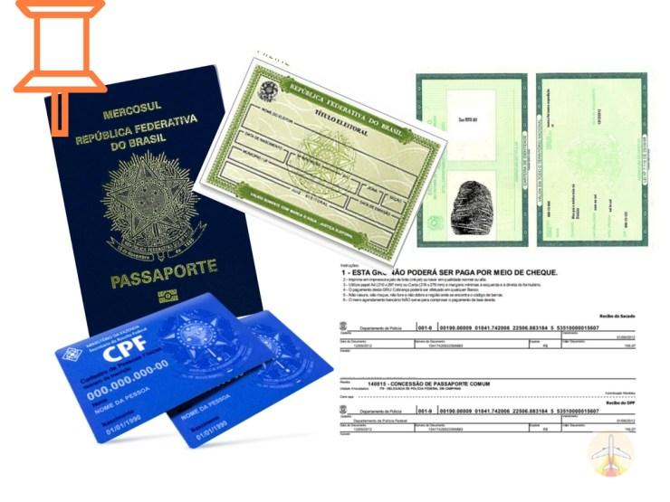 como fazer passaporte documentos