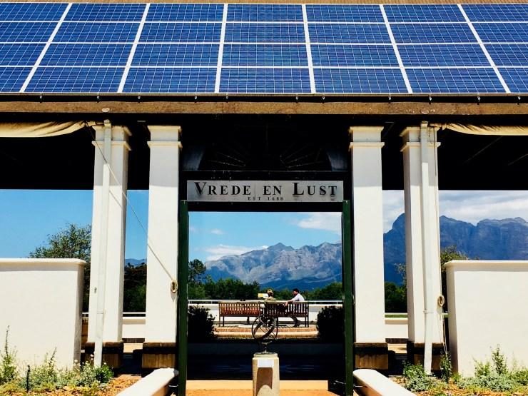 Rota dos vinhos em Cape Town vrede en lust