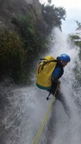 Jeremie en action_Waterfall creek